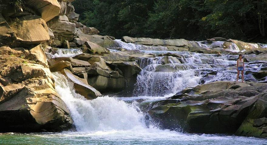 Яремче водоспад Пробій